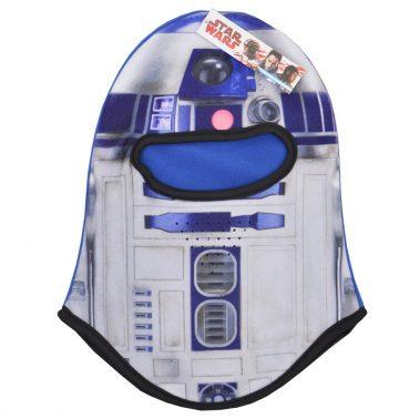 Детска шапка-маска Star Wars синя
