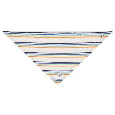Модерна кърпа бандана на райета от Tom Tailor в бяло