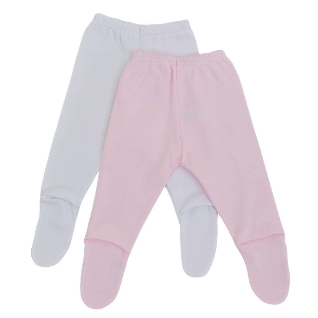Памучни бебешки ританки 2 броя в пакет розово