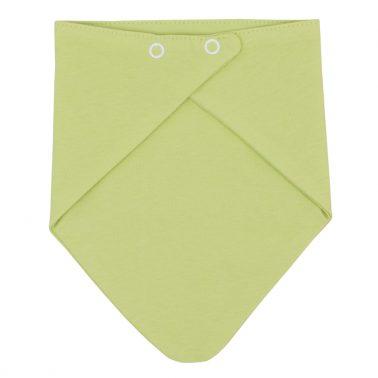 Бебешки лигавник тип бандана зелен