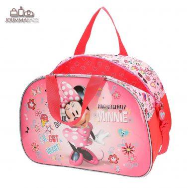 """Елегантна чанта заа пътуване от колекция """"Minnie"""" с къси и дълга дръжки"""