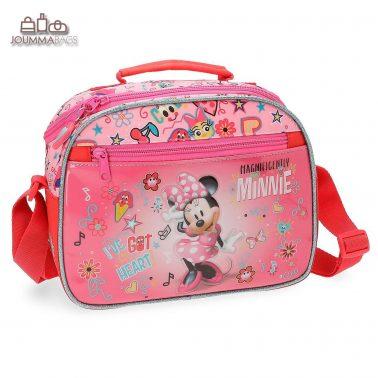 """Елегантна чанта """"Minnie"""" с къса и дълги дръжки"""