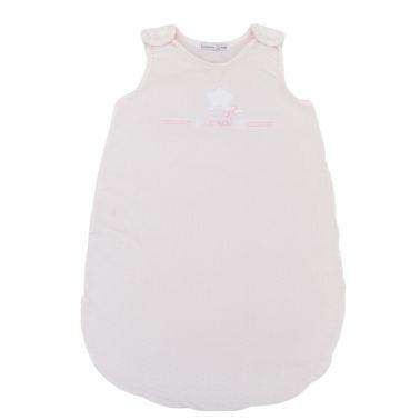 Дебело бебешко чувалче със звездичка розово