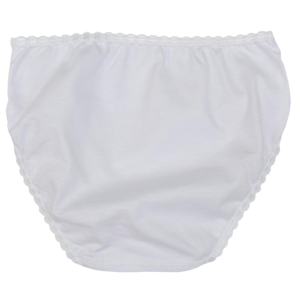 Детски памучни бикини Calamaro бели