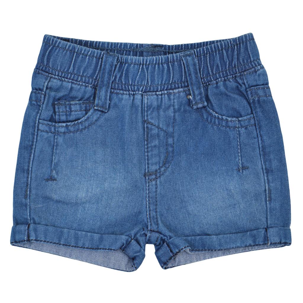 Бебешки дънкови къси панталони за момиче деним