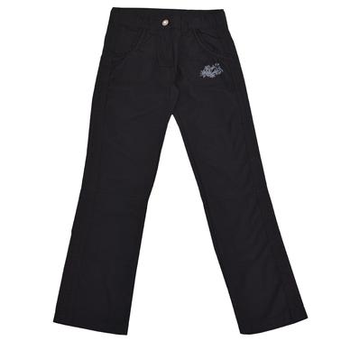 Дълъг пролетен панталон с емблема черен
