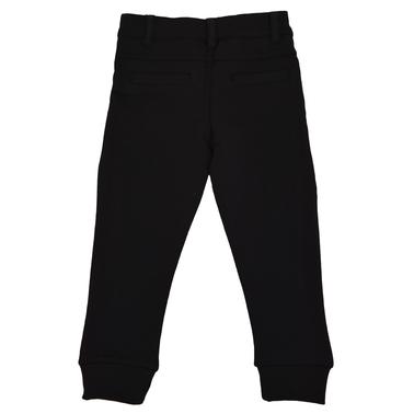 Долнище тип панталон от трико черно