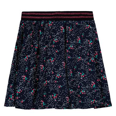 Клоширана пола на розички Tom Tailor синя