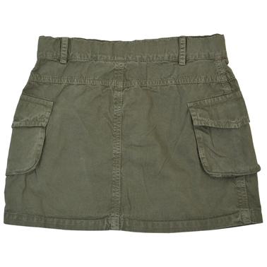 Спортна пола с големи джобове и висулка каки