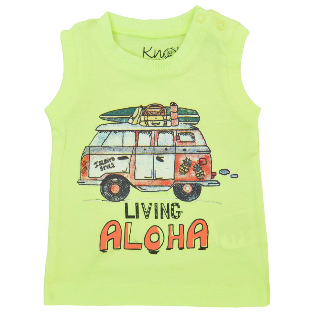"Потник с миниван ""Living Aloha"" жълт"