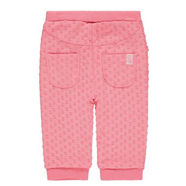 Панталон с подплата Tom Tailor на релефни топченца розов