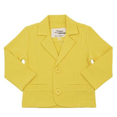 Стилно сако с елегантна визия в жълто