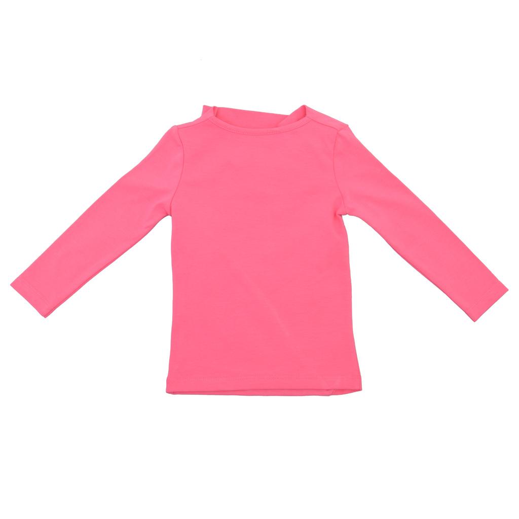Модерна блуза с ефектен дизайн малина