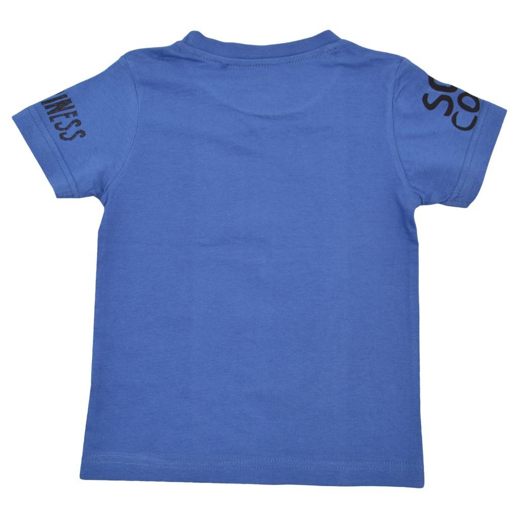 Детска лятна блуза с морски щампи деним