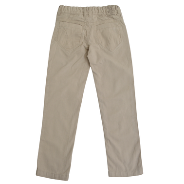 Прав едноцветен панталон сив