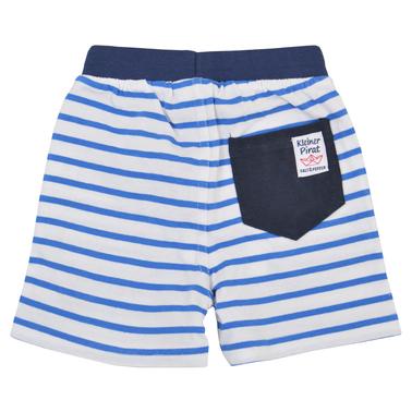 Панталонки Salt & Pepper с моряшко райе и котвичка сини
