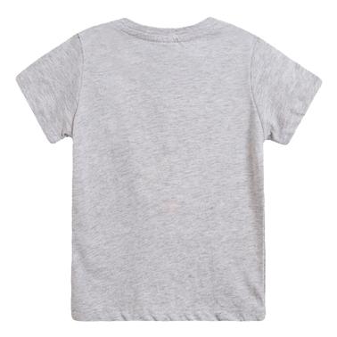 Тениска с морско съкровище от Newness в сив меланж