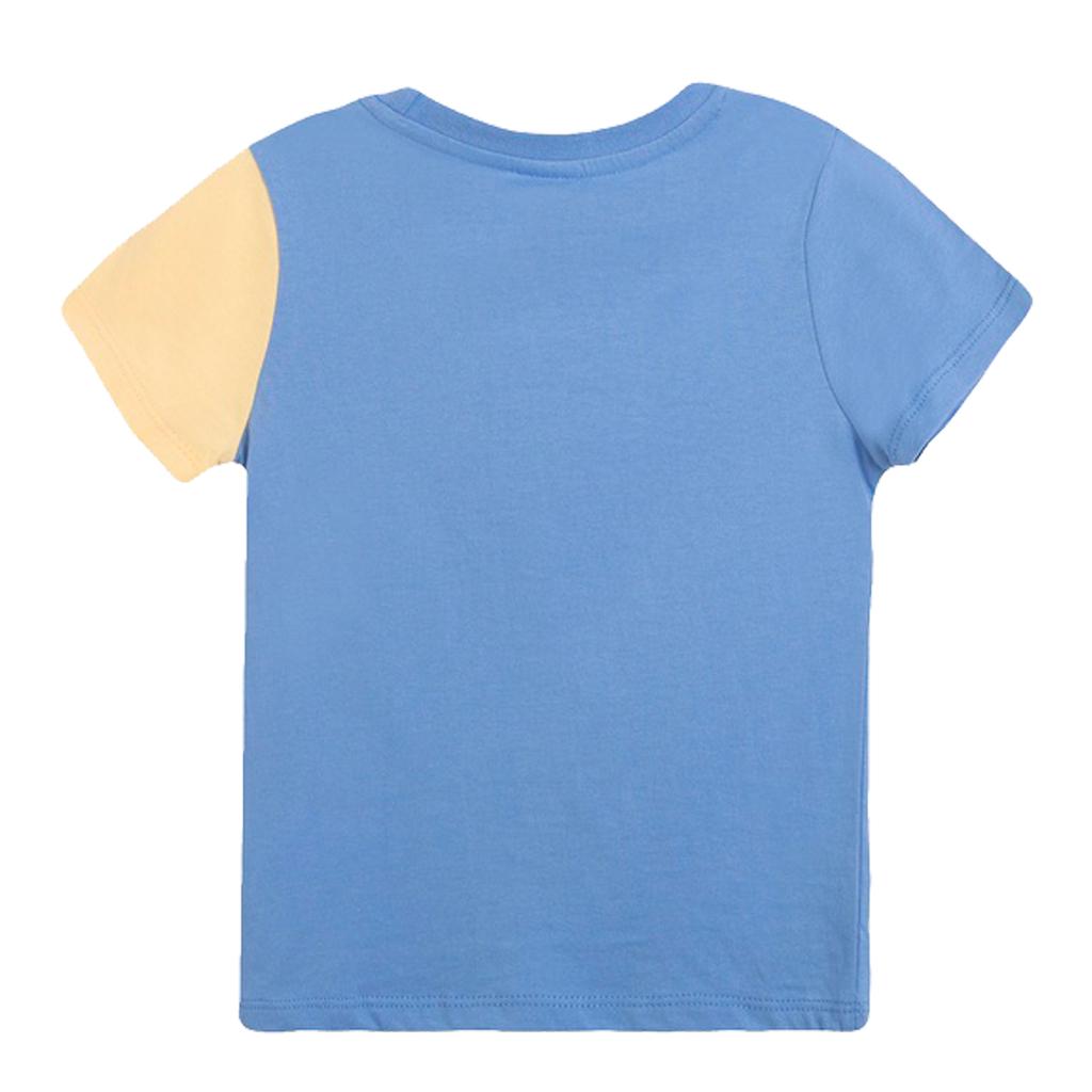 Весела тениска с емотикони от Newness в жълто