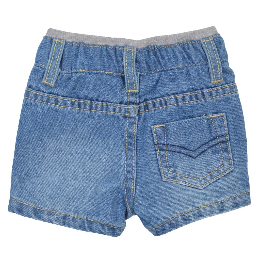 Бебешки къси дънкови панталони деним
