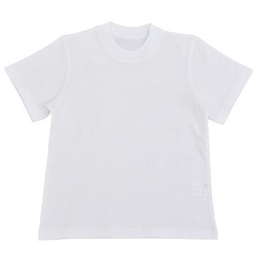 Тениска с къс ръкав изчистена - бяла