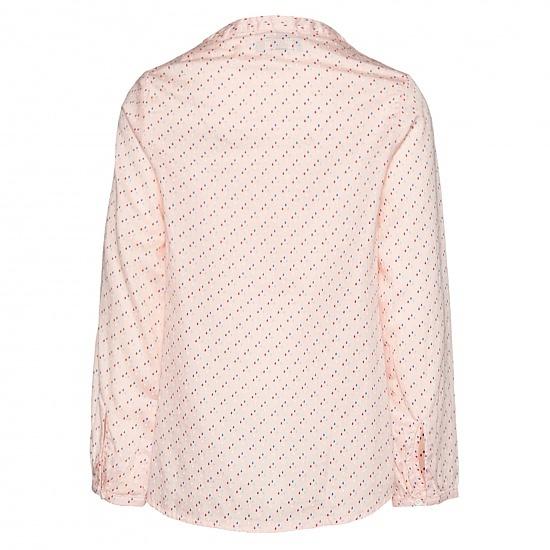 Детска блуза на капки TOM TAILOR розова
