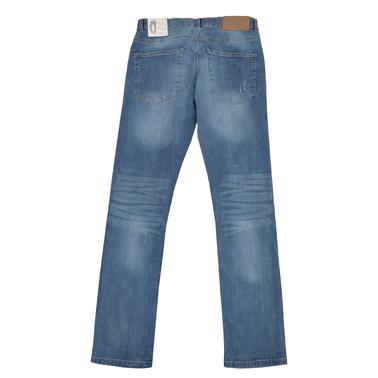 Модерни дънки с кръпки Tom Tailor сини