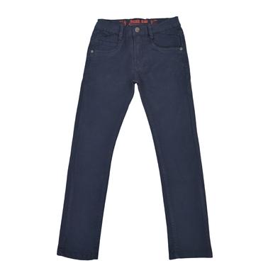 Цветен панталон с класическа кройка антрацит