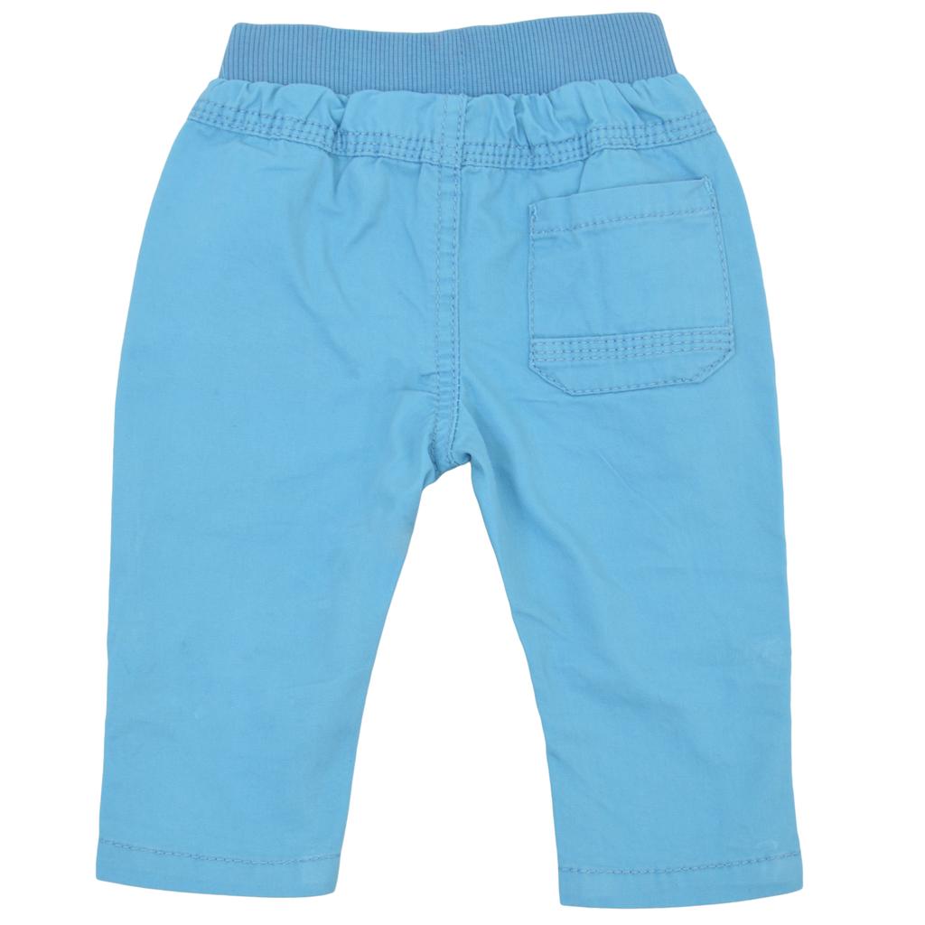 Панталон с ластик 2 в 1 светло син