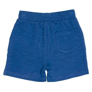 Едноцветни къси панталонки с джобчета от Salt & Pepper сини
