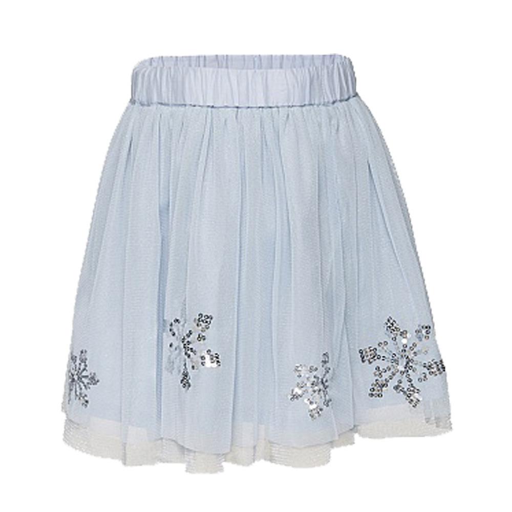 Елегантна детска пола от тюл с пайети в светло синьо Tom Tailor