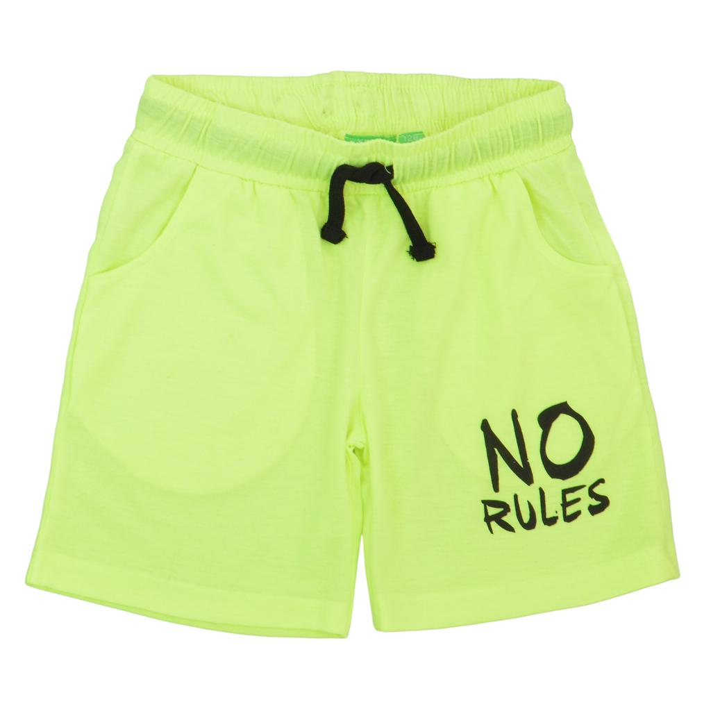Спортен сет в камуфлаж с ярки панталонки зелен