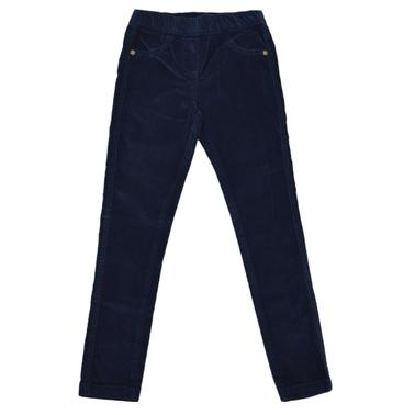 Детски клин-панталон джинси тъмно сини