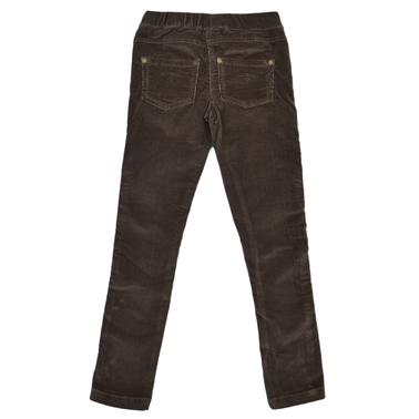 Детски клин-панталон джинси зелени
