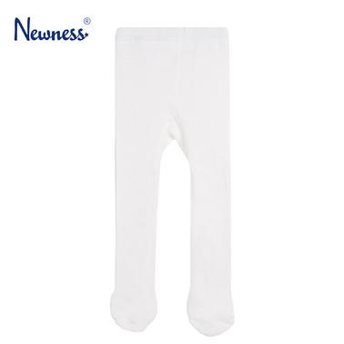 Мек чорапогащник Newness със стъпало бял