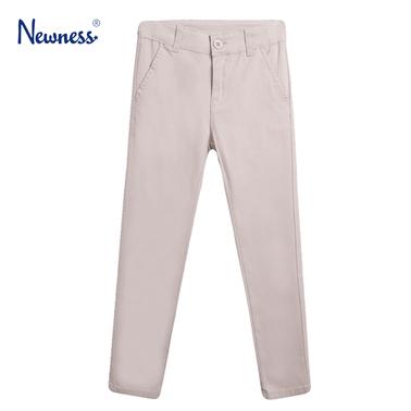 Елегантен едноцветен панталон от Newness в екрю