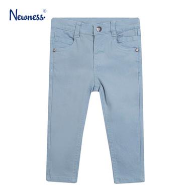 Цветен дънков панталон изчистен от Newness син