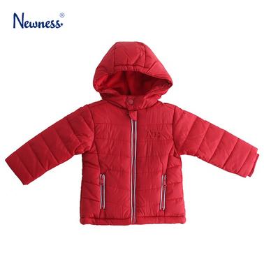 Яке с качулка и джобчета от Newness червено