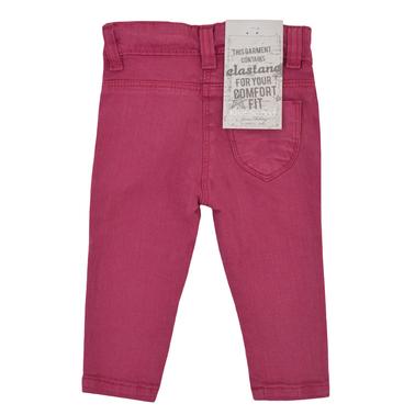 Цветен дънков панталон със звездички боровинка