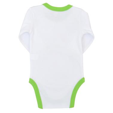 Бебешко коледно боди зелено