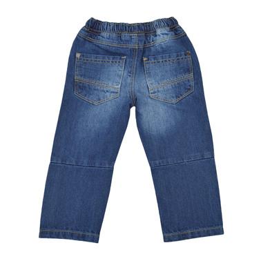 Спортен панталон с ластик и връзка деним