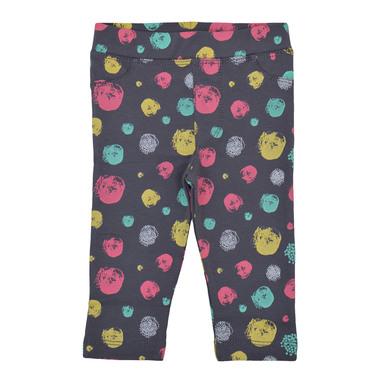 Клин-панталон с цветни кръгли петна антрацит