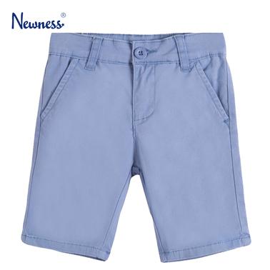 Текстилни бермуди с италиански джоб от Newness в синьо