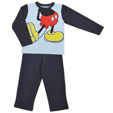 Пижама с Мики Маус антрацит