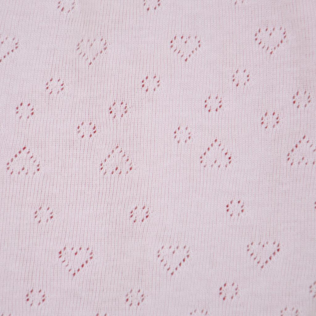 Памучни бикини на сърчица в розово