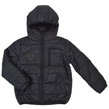 Практично яке с качулка и джобове черно
