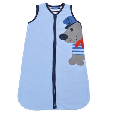 Бебешко хавлиено чувалче с мишка капитан светло синьо
