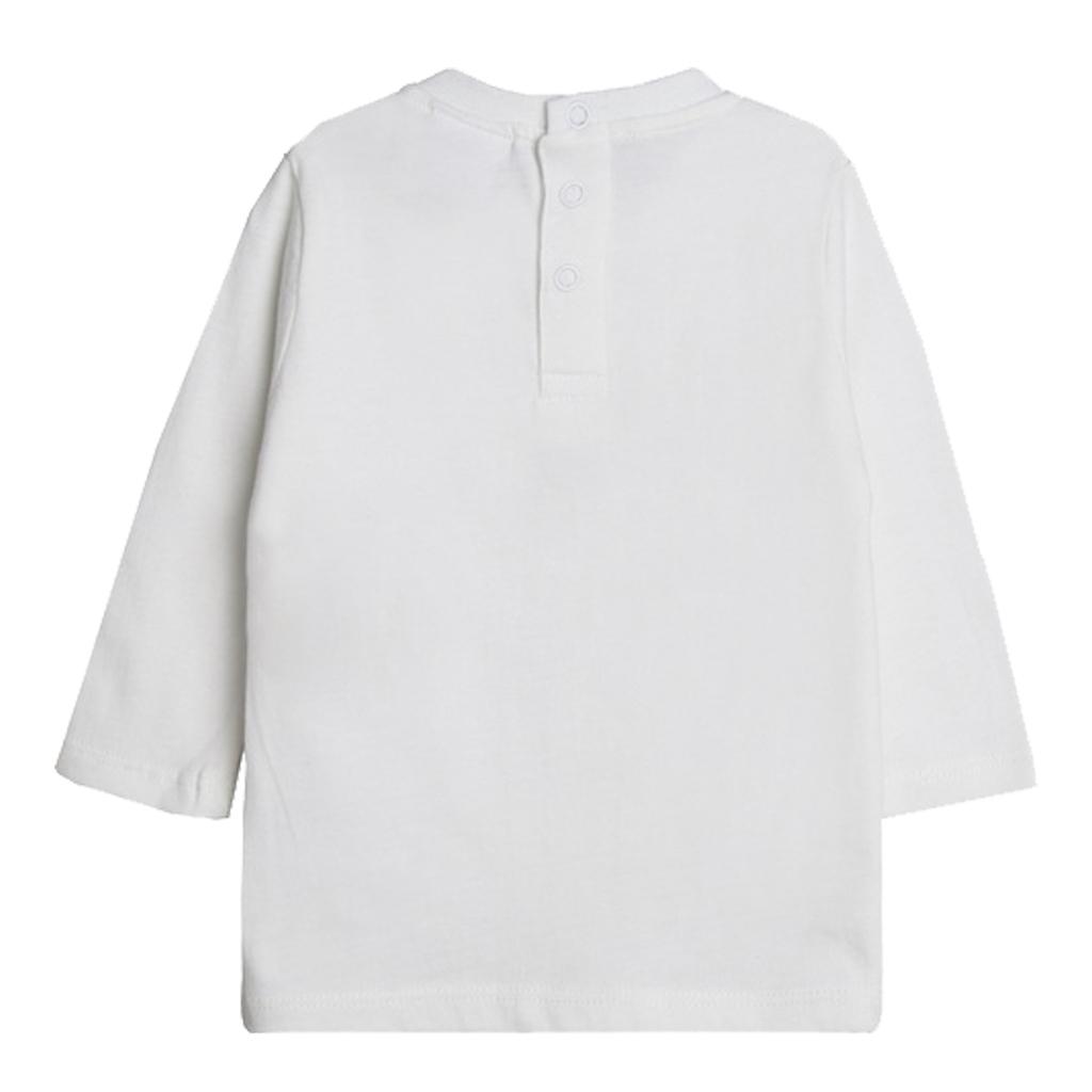 Блузка с мече и тиранти от Newness бяла