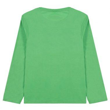 Блуза Tom Tailor с щампа ''Uptown'' в зелено