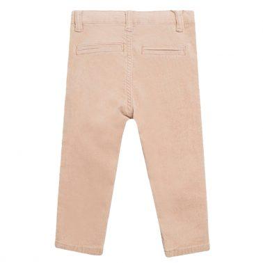 Изчистени джинси ситен рипс от Newness в бежово