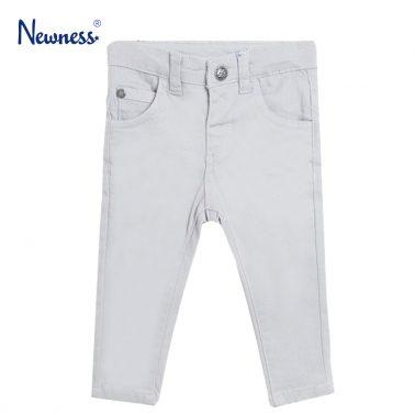 Панталон в сиво с измачкан ефект от Newness